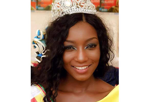 Julie comme Julie Nguimfack, miss Cameroun 2016