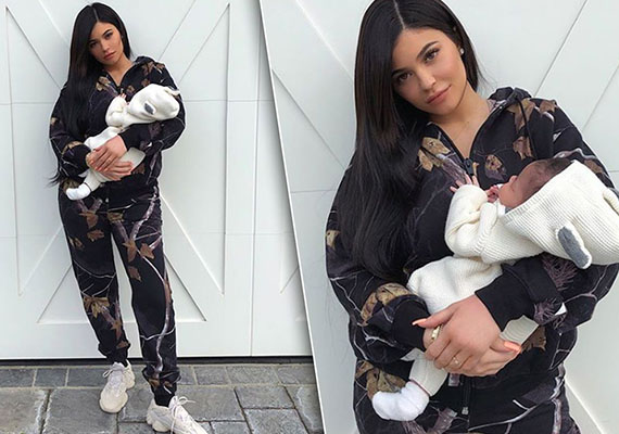 Kylie Jenner has given birth to a baby girl
