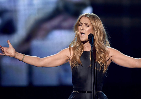 """Celine Dion signs his come back with """"Ashes""""!"""