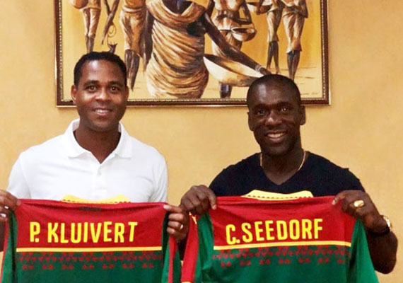 WILL SEEDORF AND KLUIVERT : the new trainers of the Indomitable lions