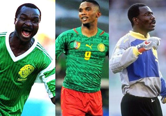 Three Cameroonians in contention for the title of best African player in history