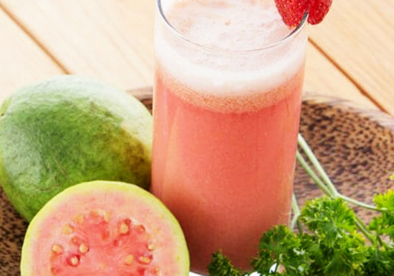 Refreshing Guava lime Cocktail