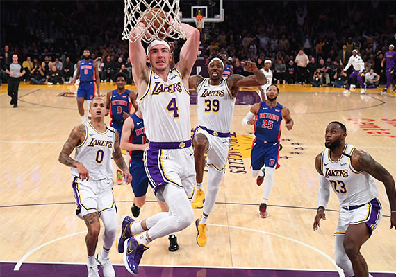 Lakers, Nets and Clippers Teammates Make Headline in USA