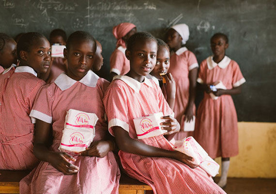 Menstrual Hygiene Day: Empowering Girls through the provision of sanitary products