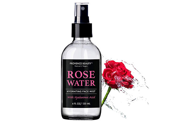 How to make your own organic rose water setting spray